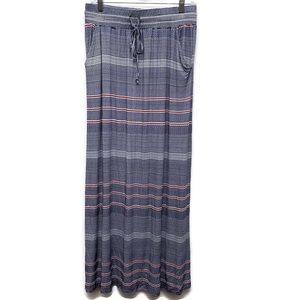 Design History Striped Maxi Skirt